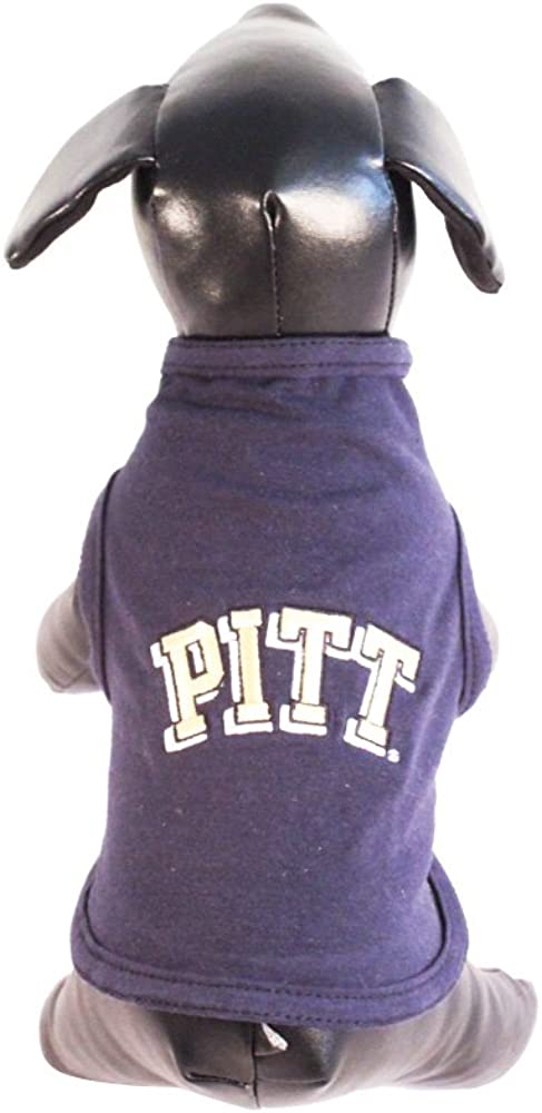 NCAA Pittsburgh Panthers Cotton Lycra Dog Tank Top