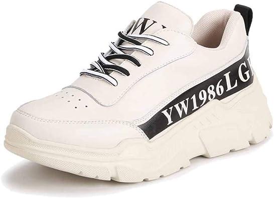 Zapatillas De Deporte para Estudiantes Chunky Retro Gruesas Zapatillas Deportivas para Correr: Amazon.es: Zapatos y complementos