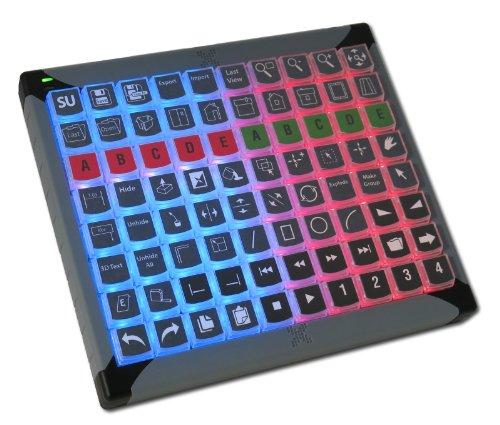 X-keys Programmable Keypads and Keyboards (80 Key, XK-80) by X-keys