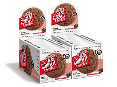 Lenny & Larry's The Complete Cookie Hzkzi - 24 Double Chocolate Cookies (2 Packs of 12)