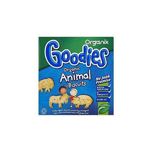 Organix Goodies Organic Animal Biscuits 12mth+ (100g)