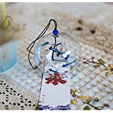 Japanese Wind Bell Wind Chimes Handmade Glass Wind Chimes-Bluefish