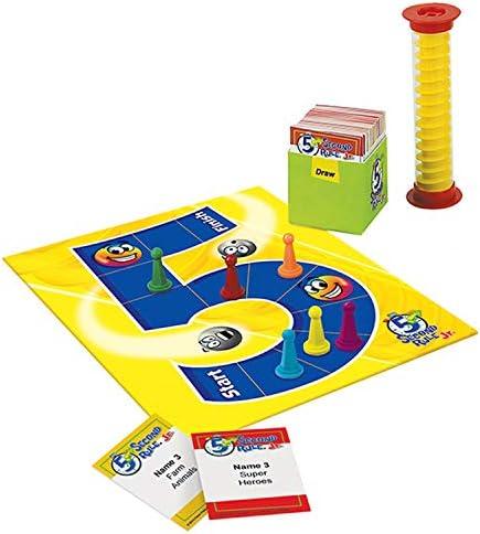 5 Second Rule Jr. Board Game by Patch Products: Amazon.es: Juguetes y juegos