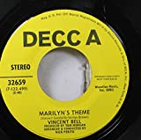 VINCENT BELL 45 RPM MARILYN'S THEME / AIRPORT LOVE THEM