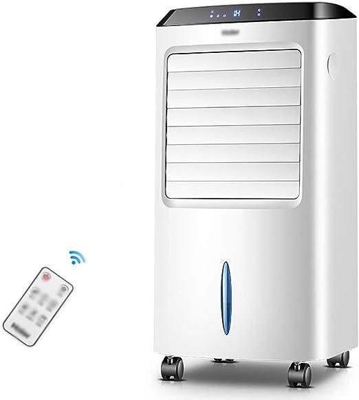 Ventilador electrico Ventilador de fuente de viento gran angular de 60 °, ventilador de aire acondicionado con control remoto frío - enfriador de aire, deshumidificador, ventilador purificador de aire: Amazon.es: Hogar