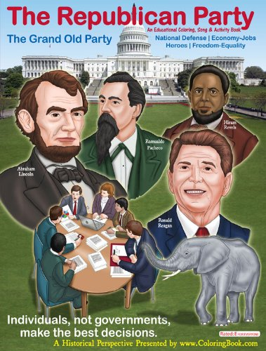 The Republican Party: The Grand Old Party Coloring and Activity Book