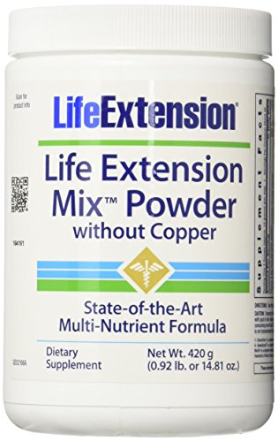 Life Extension Mix without Copper Powder, 14.81 Ounce