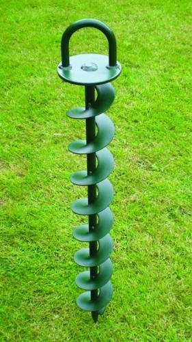 HURRICANE 650MM GROUND ANCHOR FOR MARQUEES CIRCUS TENTS GRANDSTAND SEATING STAGING SPYRA BASE