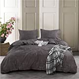 Smoofy 3 Piece Branch Duvet Cover Set, Luxury 100% Cotton Ultra Soft Breathable Hypoallergenic Wrinkle and Fade Resistant Vintage Style Comforter Cover + 2 Pillow Shams (Queen)