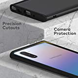 RhinoShield Ultra Protective Bumper Case Compatible with Samsung [Galaxy Note 10] | CrashGuard - Military Grade Drop Protection Against Full Impact, Slim, Scratch Resistant - Black