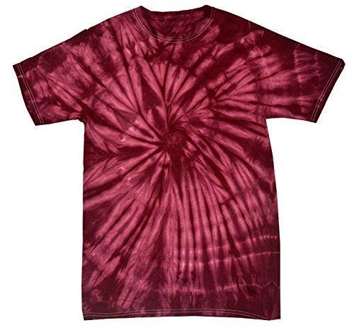 Colortone Tie Dye T-Shirt 3X Spider Plum