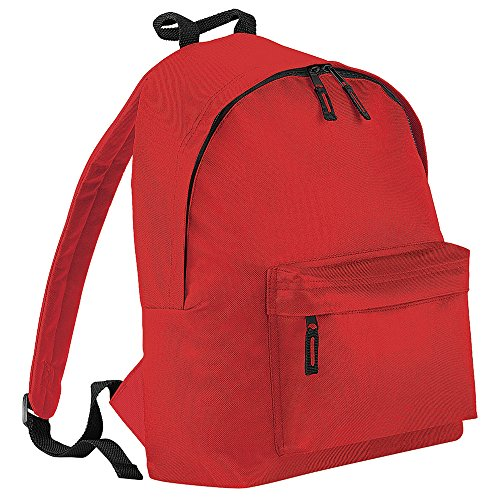 Bagbase Backpack Bright Fashion Model (18 Liters) Red