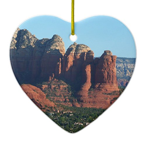 Zazzle Coffee Pot Rock I in Sedona Arizona Ceramic Ornament - Sedona Server
