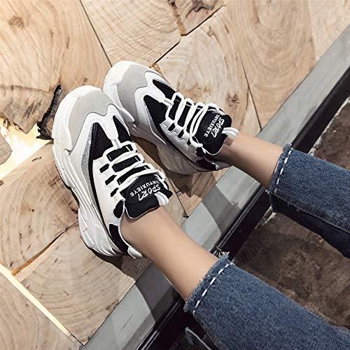Nouveau Running Entraînement Homme Automne 43 Sneaker Luckygirls Compétition Baskets De Hiver Sport Course Multisports Mode Trail Noir Chaussures 35 qAC4wxE1