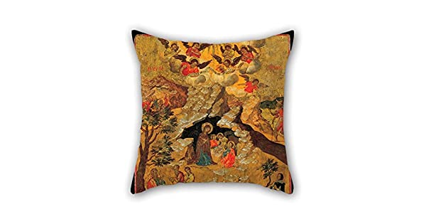 Amazon.com: Pintura al óleo moskos Ilias – La Natividad ...