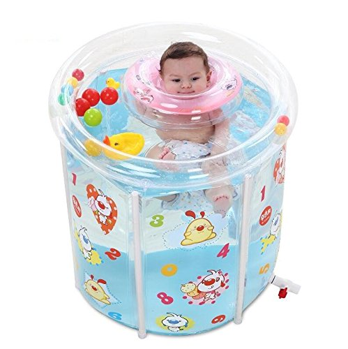 Transparent baby folding pool/swimming pool/children's bath barrel by TYCGY