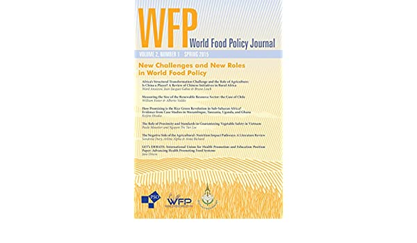 New Challenges and New Roles in World Food Policy: Volume 2