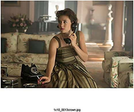 The Crown Vanessa Kirby As Princess Margaret On Telephone 8 X 10