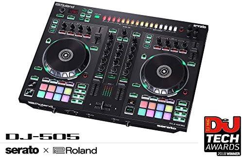 Roland Two-channel, Four-deck Serato DJ Controller (DJ-505)