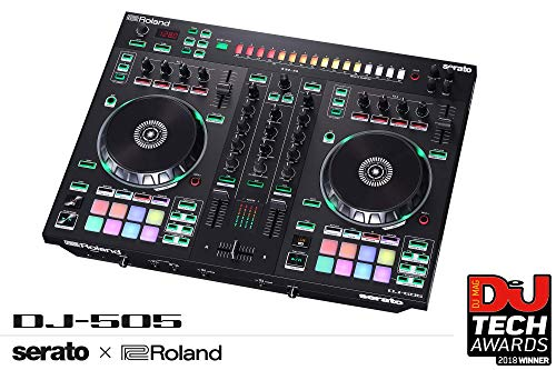 Roland Two-channel, Four-deck Serato DJ Controller (DJ-505)