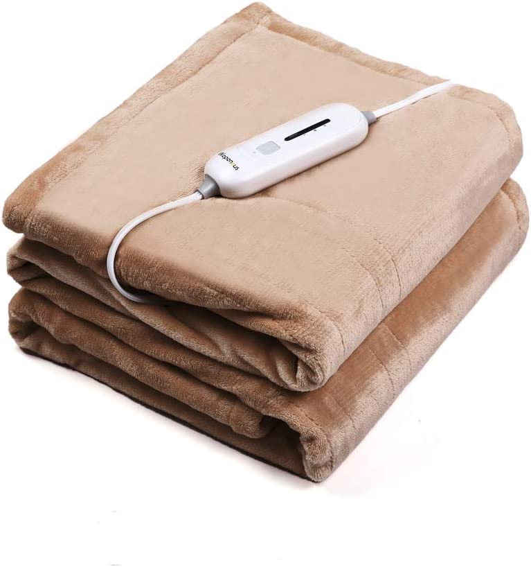 59/'/' Non-woven Fabric Electric Heated Blanket Throw Over Under Bed Warm