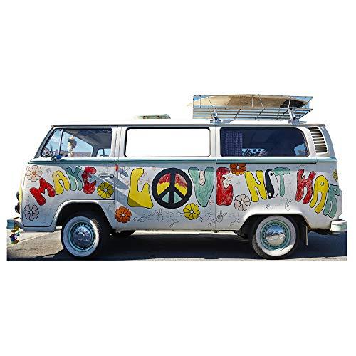 SC2068 Hippie Van Cardboard Cutout Standup -
