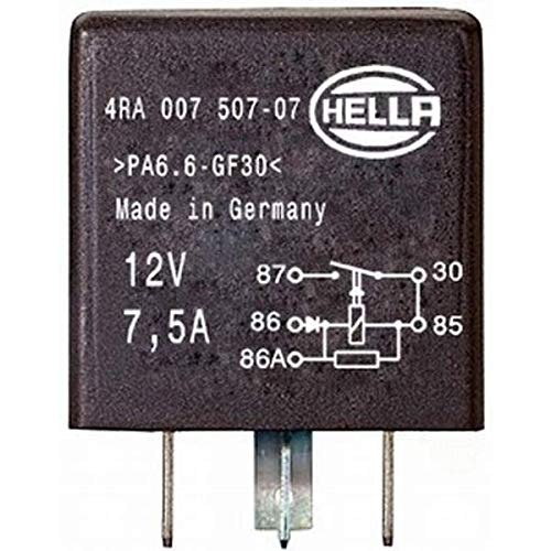 HELLA 4RA 007 507-071 Rel/é corriente de trabajo con diodo 12V