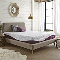 Memory Foam Mattress (Twin) - Lavender Bliss 10-Inch by Perfect Cloud - Lavender-Infused Memory Foam Top Layer - Enjoy the Relaxing Effect of Lavender As You Sleep - NEW 2018 Innovation