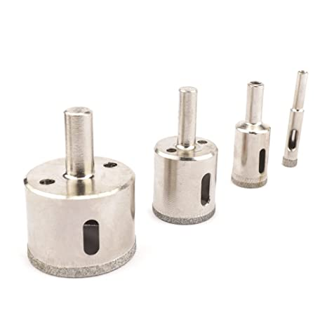 Electroplated diamond core drill bit for glass granite marble 26mm