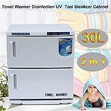 Water-chestnut 2 In 1 Disinfection Cabinet, Spa Sterilizer Machine For Beauty Salon Spa Massage(30L)