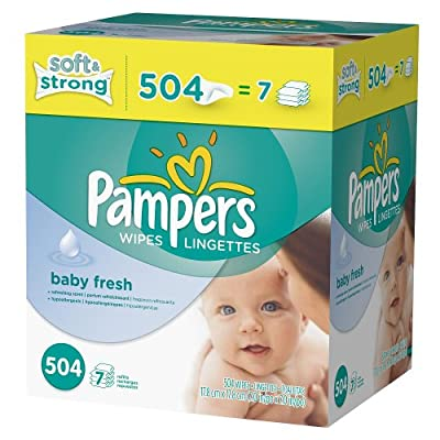 Pampers Baby Fresh Baby Wipes Refill - 504 Count by Pampers that we recomend personally.