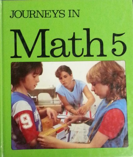 Journeys In Math 5