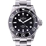 Davosa Swiss Made Men Watch, Automatic Analog Ternos Professional 16155950 for 500m Dives, Stainless Steel Wrist Band, Premium Ceramic Bezel