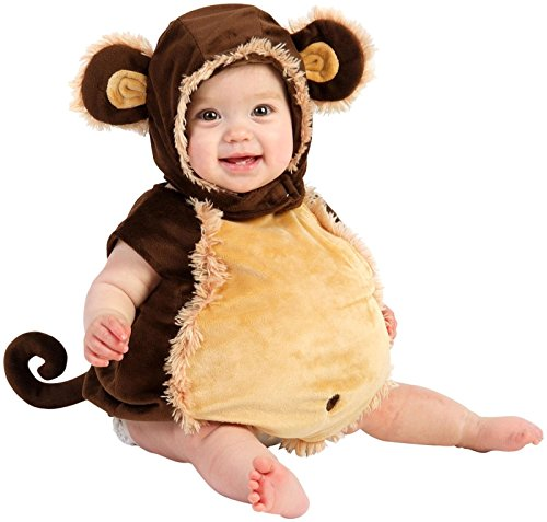 (Princess Paradise Baby's Deluxe Melvin the Monkey Costume,Brown/Beige 6-12)