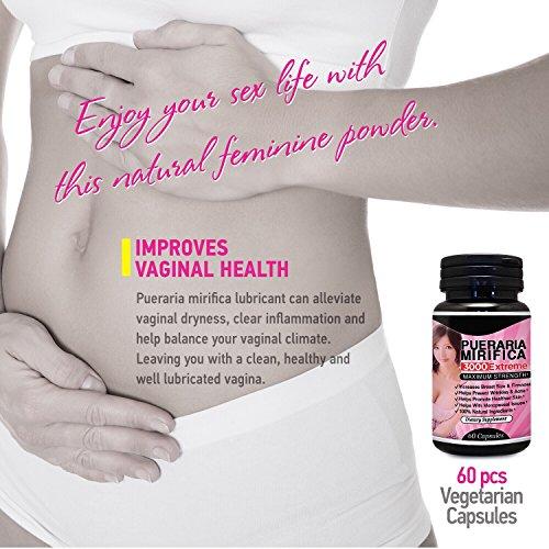 Natural breast enhancement for menopausal women