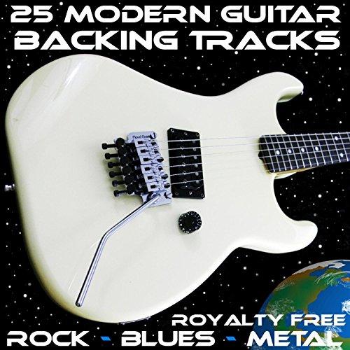 (25 Modern Royalty Free Guitar Backing Tracks Rock Blues Metal Jam)