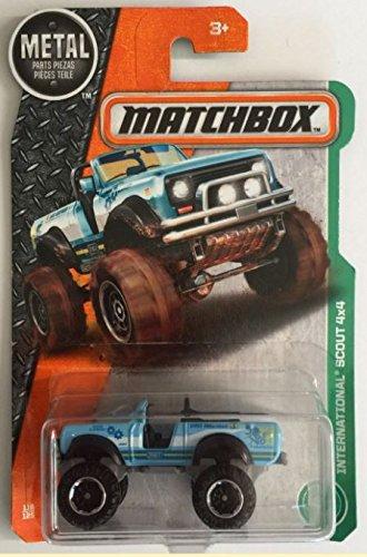 MATCHBOX BLUE INTERNATIONAL SCOUT 4X4 116/125
