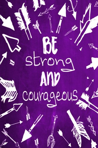 """Download Chalkboard Journal - Be Strong and Courageous (Purple): 100 page 6"""" x 9"""" Ruled Notebook: Inspirational Journal, Blank Notebook, Blank Journal, Lined ... Journals - Aqua Collection) (Volume 4) pdf"""