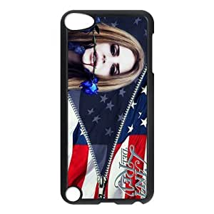 Customiz American Famous Singer Lana Del Rey Back Case for ipod Touch 5 JNIPOD5-1321