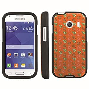 [ArmorXtreme] Designer Image Shell Cover Hard Case (Key Orange) for Samsung Galaxy Ace Style S765C