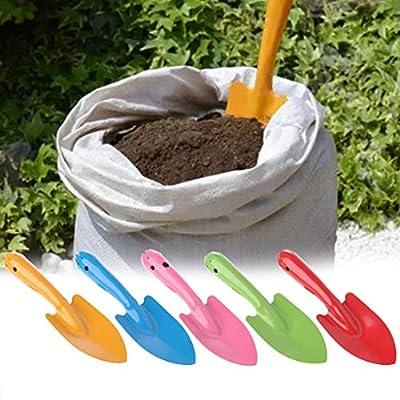 ousifanersty Mini Garden Hand Tool Plant Gardening Shovel Spade Metal Garden Hand Shovel Flower Soil Planting Kids Spade Tool : Garden & Outdoor