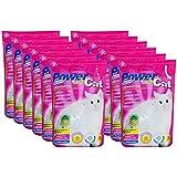12 x 5 l = 60 L Power Cat Magic Silikat Katzenstreu Powercat