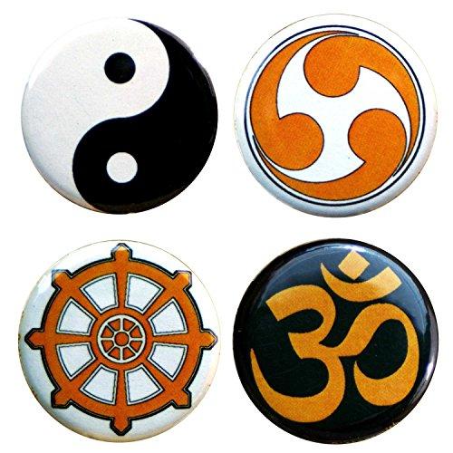 Buttonsmith Meditation Tinker badge reels