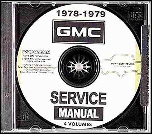 1978-1979 GMC 1500-3500 Shop Manuals on ()