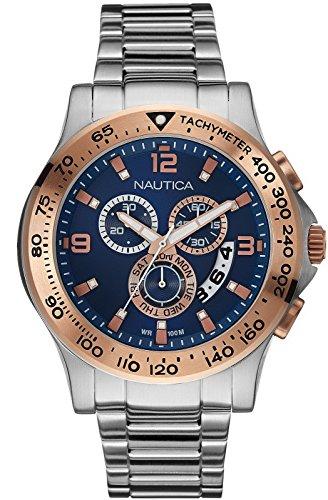 Nautica NAI22503G NST 600 Chronograph Men's Watch