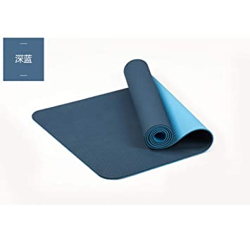 RCFRGVVEVCF Yoga Mat TPE Yoga Mat 6Mm For Fitness Lose ...