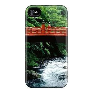 Bernardrmop MuuLTYT599CfyqX Case Cover Skin For Iphone 4/4s (the Sacred Bridge Of Futarasan Shrine)