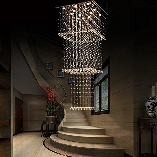 Crystal Chandelier by Aiwen 12 Lights Luxury Lightings H80