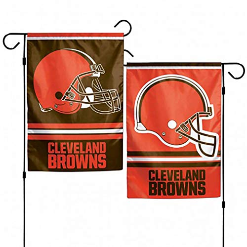 WinCraft NFL Cleveland Browns 2-Sided Garden Flag, 12 x 18-inches
