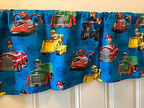 Paw Patrol Blue Character Curtain -